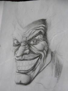 10 Dibujos a lápiz del joker (4)