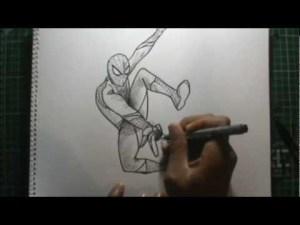10 Dibujos a lapiz de Spiderman (7)