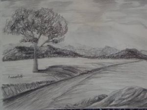 10 Dibujos a lápiz de paisajes (1)