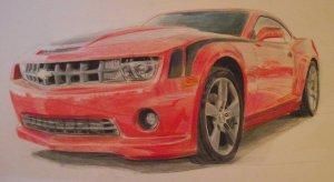 11 Dibujos a lapiz de autos (5)