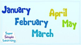 The Months Chant   Super Simple Songs