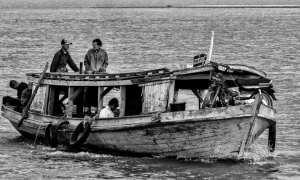 Sur l'Irrawaddy