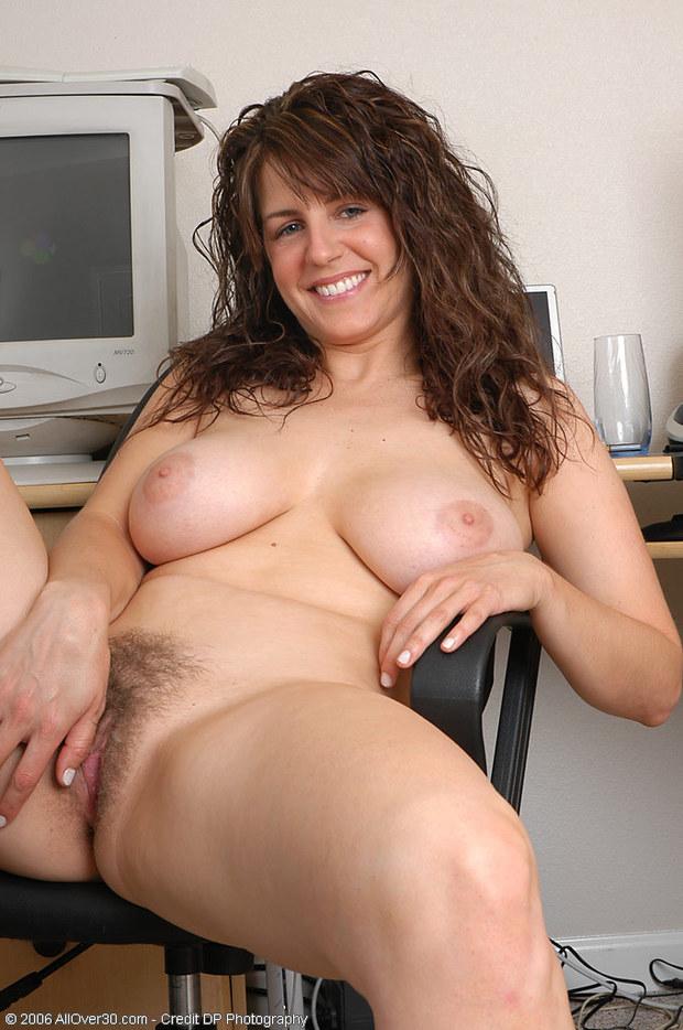 curly hair brunette milf pussy