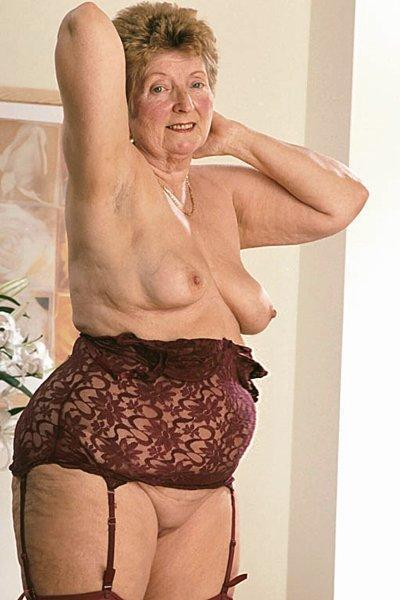 crotchless girdles grannies
