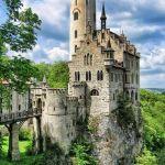 Lichtenstein Castle, Baden-Wurttemburg, Germany