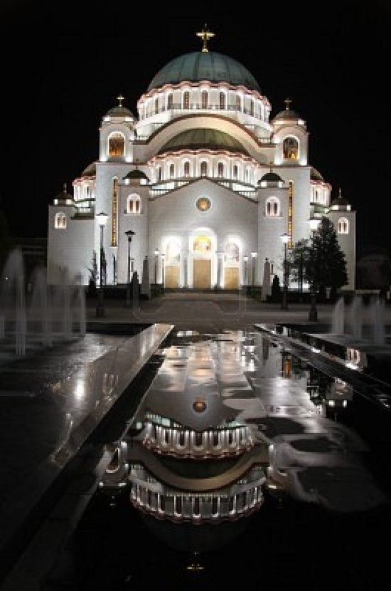 St. Sava Orthodox Cathedral in Belgrade, Serbia