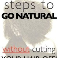 35.  10 Easy Steps to Go Natural Without Cutting Your Hair Off