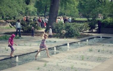 Eröffnung kleiner Tiergarten in Berlin-Moabit