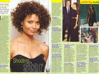 Shooting Star Thandie Newton The Slap  TV Soap