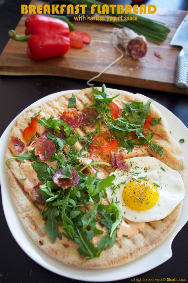 Breakfast flatbread_T