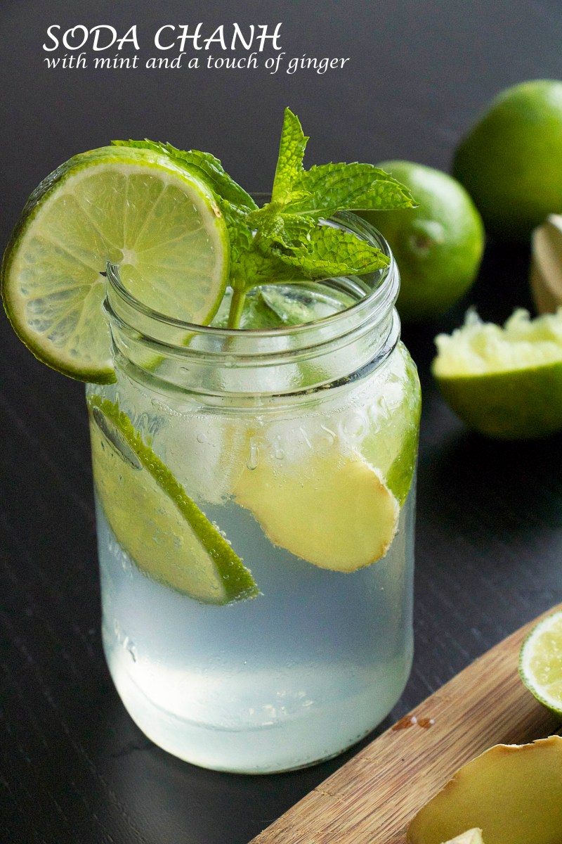 SODA CHANH WITH MINT