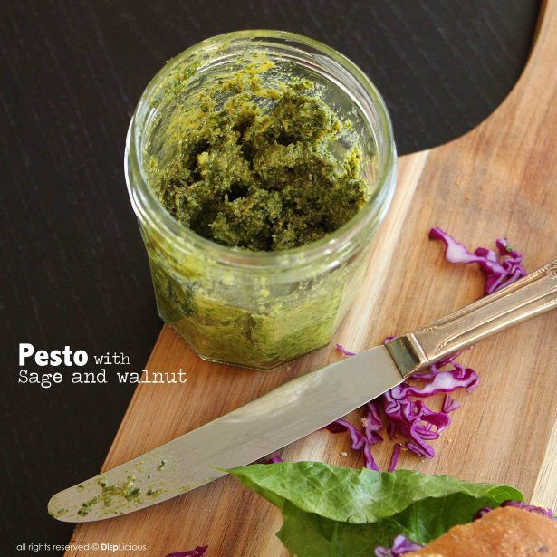 pesto 1024x1024 SAGE & WALNUT PESTO