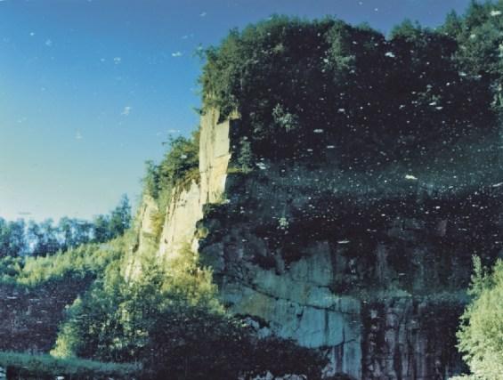 Tatiana Lecomte Fallschirmspringerwand 5, 2005. Foto Bildrecht, Wien 2018