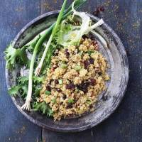 Curried Fried Quinoa