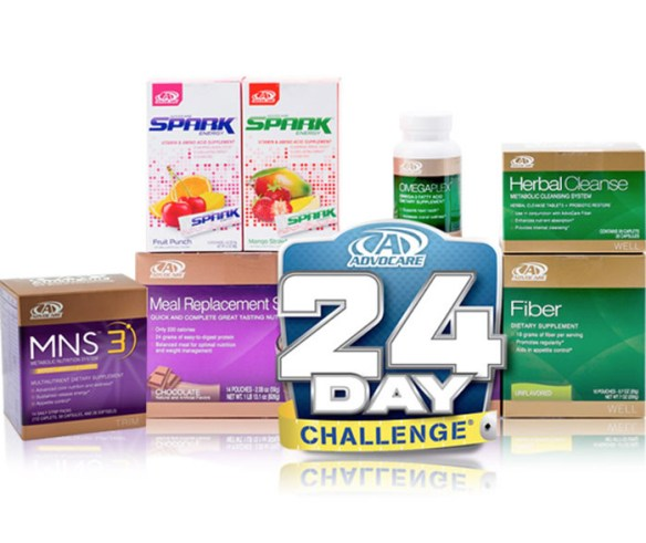 Advocare Spark 24 Day Challenge