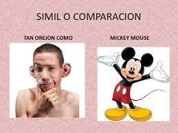 simil o comparacion