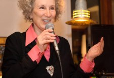 In Which Margaret Atwood is Poised to Become a Tech Mogul & Muses on Writing, Riding & Higgsteria