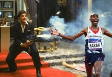Meme Time: Gold Medal Olympian Mo Farah Running Away From Things