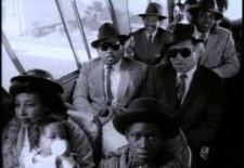 """Screen capture from the video """"Sister Rosa"""" by The Neville Brothers"""