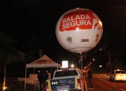 Balada Segura aborda cerca de 2,5 mil veículos no ano de 2017 em Bento