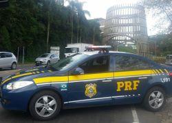 PRF prende homem alcoolizado e com a CNH cassada na BR-470