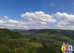 Domingo será de tempo ensolarado na região de Bento Gonçalves