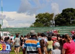"""Cancelada a """"chegada do Papai Noel"""" no antigo estádio da Montanha em Bento"""