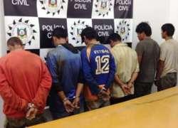 Operação Chave de Cadeia prende seis foragidos da justiça em Vacaria