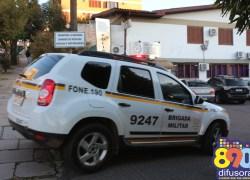 Brigada aponta redução de 75% da criminalidade em Bento