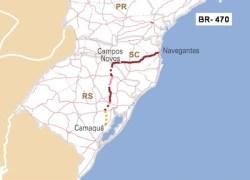 DNIT inicia reforma de ponte na BR 470 em Triunfo