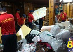 Bombeiros de Bento arrecadam material para São Francisco de Paula