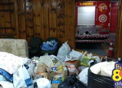 Bombeiros de Bento recebem doações para São Francisco de Paula até quinta