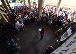 Ato público defende a importância da Justiça do Trabalho para a sociedade