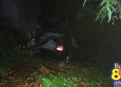 Veículo sai da pista e condutor fica ferido em acidente na ERS-431 em Monte Belo