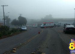 Motociclista morre em acidente de trânsito na VRS-855 em Pinto Bandeira