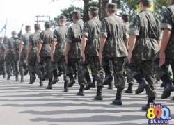 Mais de 700 jovens de Bento efetuaram o alistamento militar no 6ºBCOM