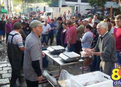 Feira do Peixe na Semana Santa em Bento registra incremento de 8% da comercialização