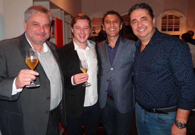 Silvio Bertolini Pasin, Gianfranco Bellé, Paulo Geremia e Alexandro Barreto