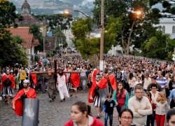 Paixão de Cristo reúne milhares de fiéis em Garibaldi e Carlos Barbosa