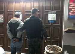 POE cumpre mandado de prisão em Bento