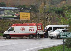 Acidente deixa dois feridos no Vale dos Vinhedos