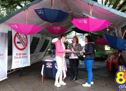 Liga de Combate ao Câncer de Bento promove blitz de conscientização contra o tabaco