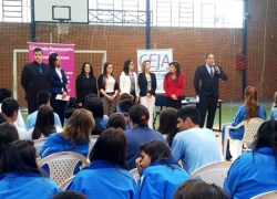 """Projeto """"OAB Vai à Escola"""" retoma palestras na Rede Municipal em Bento"""
