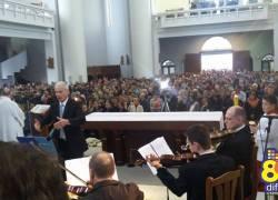 Devoção reúne milhares de fiéis no Santuário de Caravaggio