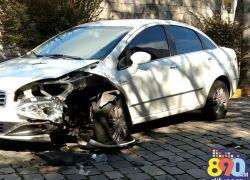 Acidente com danos é registrado no Botafogo em Bento