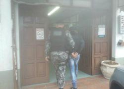 POE prende foragido no Vila Nova em Bento