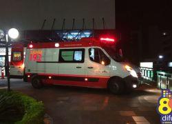 Motociclista fica ferido em acidente no Fátima em Bento