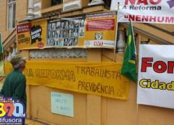 Intersindical de Bento divulga nota de repúdio, após sanção da Reforma Trabalhista