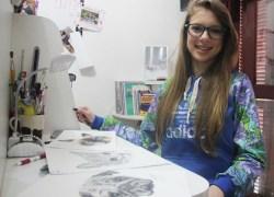 """Exposição """"Através de um lápis preto"""" inicia na Fundação Casa das Artes"""