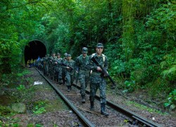 Militares do 6ºCOM participam de marcha de 16km no interior de Bento
